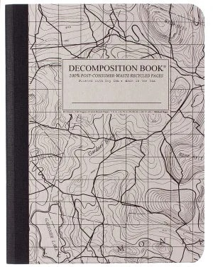 Image For Michael Roger's Decomposition Notebook - Topographical Map