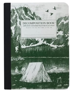 Image For Michael Roger's Decomposition Notebook - Mountain Lake