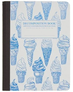 Image For Michael Roger's Decomposition Notebook - Soft Serve