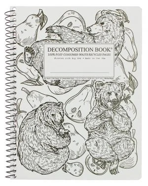Image For Michael Roger's Spiral Bound Notebook - Pear Bears