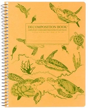 Image For Michael Roger's Spiral Bound Notebook - Sea Turtles