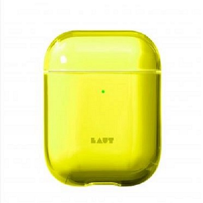 Cover Image For Laut Crystal X for AirPods ACID Yellow