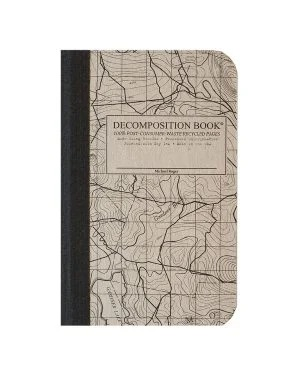 Image For Michael Roger's Pocket Notebook - Topographic Map