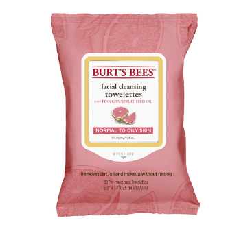 Image For Burt's Bees Cleansing Towelettes