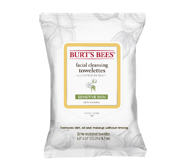 Cover Image For Burt's Bees Cleansing Towelettes