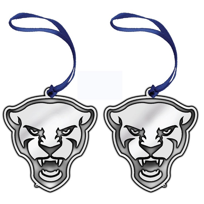 Image For Pitt Panther Head Ornament