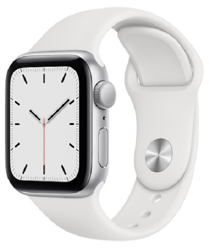 Image For Apple Watch SE - 40mm Silver/White