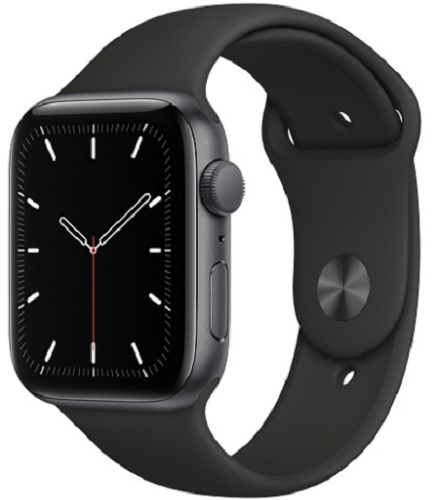 Image For Apple Watch SE - 44mm Space Gray/Black