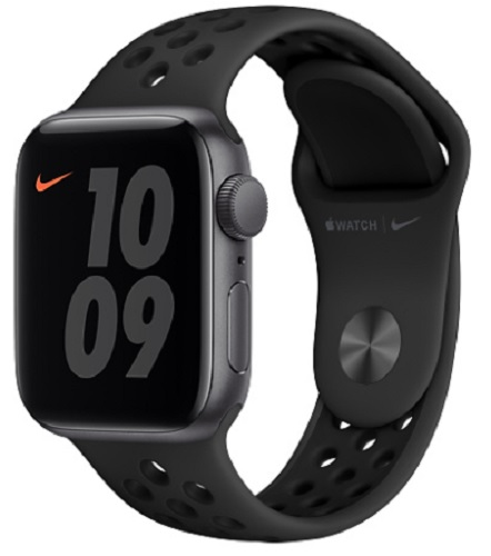 Image For Apple Watch Nike SE - 40mm Space Gray/ Anthracite and Black