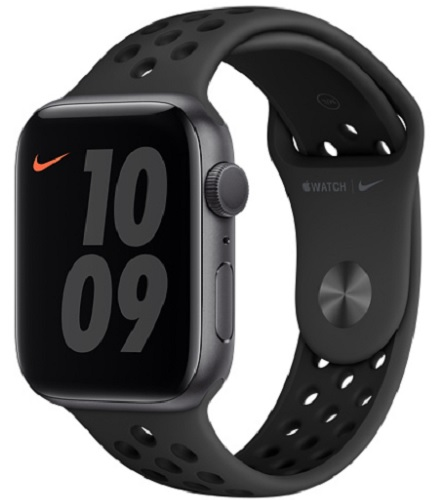 Image For Apple Watch Nike Series 6 - 44mm Space Gray/Athracite and Bl