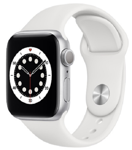 Image For Apple Watch Series 6 - 40mm Silver/White