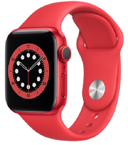 Image For Apple Watch Series 6 - 40mm PRODUCT (RED)/Red