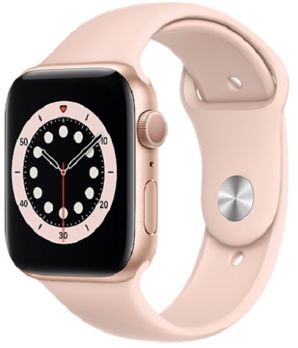 Image For Apple Watch Series 6 - 44mm Gold/Pink Sand