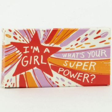 Image For I'm A Girl, What's Your Superpower? Gum